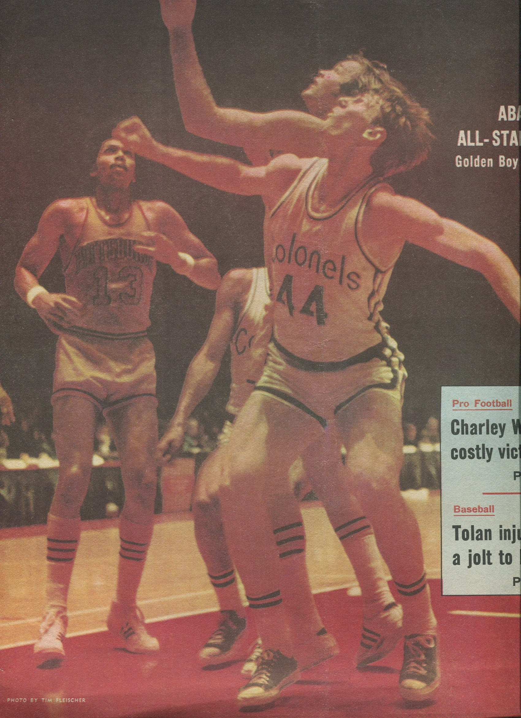 ABA American Basketball Association Players Stew Johnson