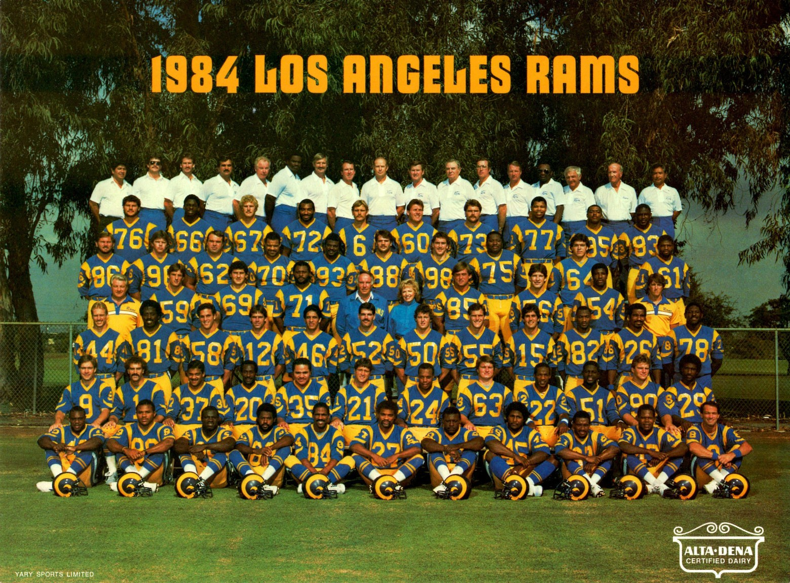 Los Angeles Rams 1985 Nfl