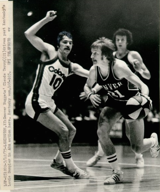Denver Nuggets Famous Players: ABA Players-Claude Terry