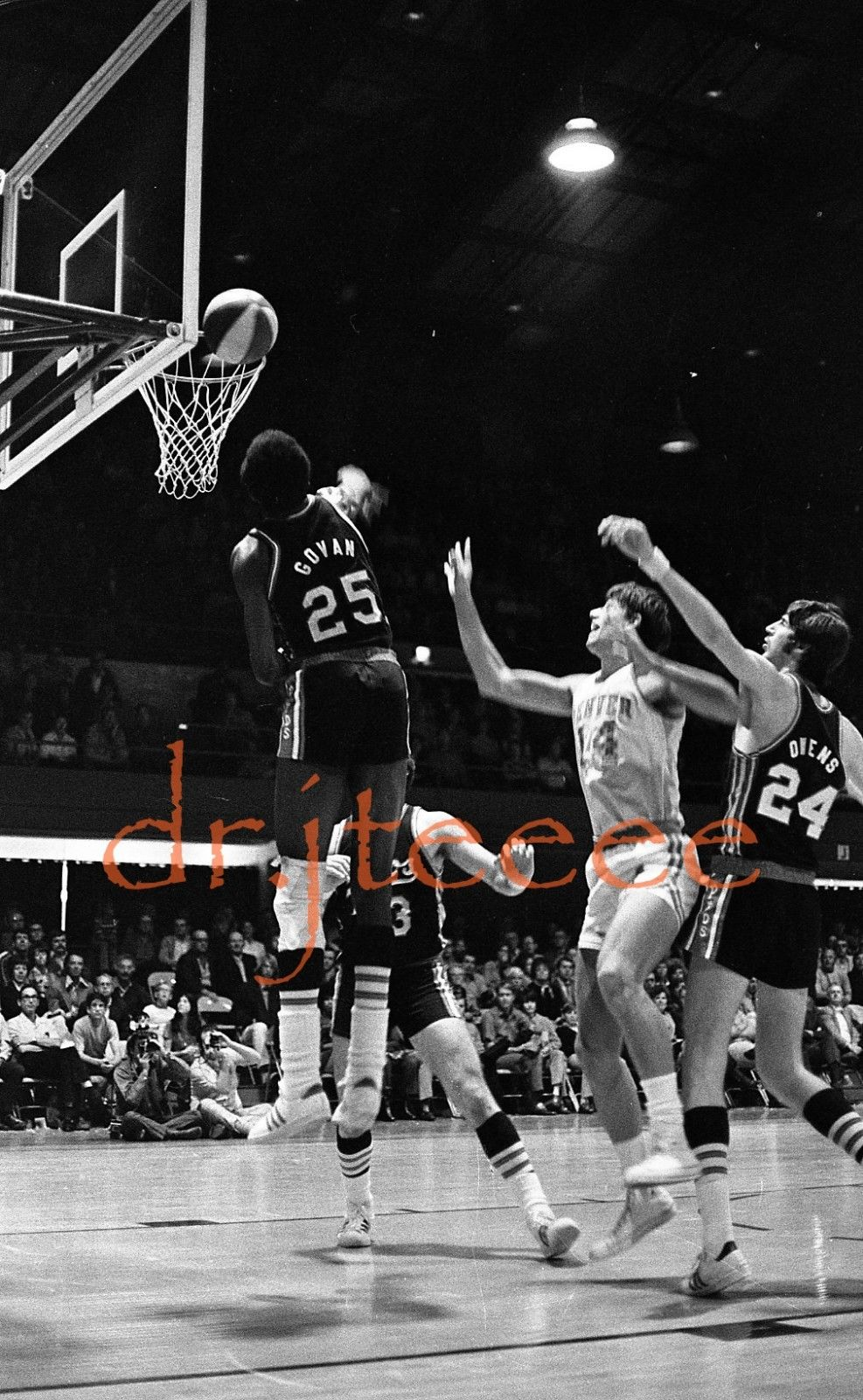 ABA American Basketball Association Players Gerald Govan