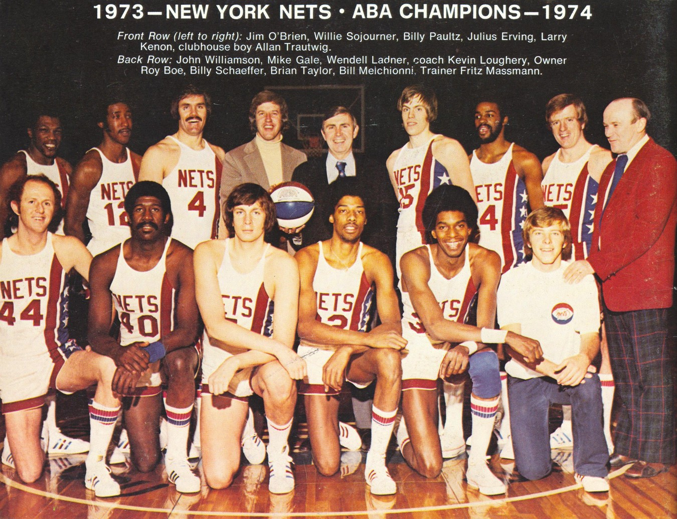ABA New York Nets Rosters