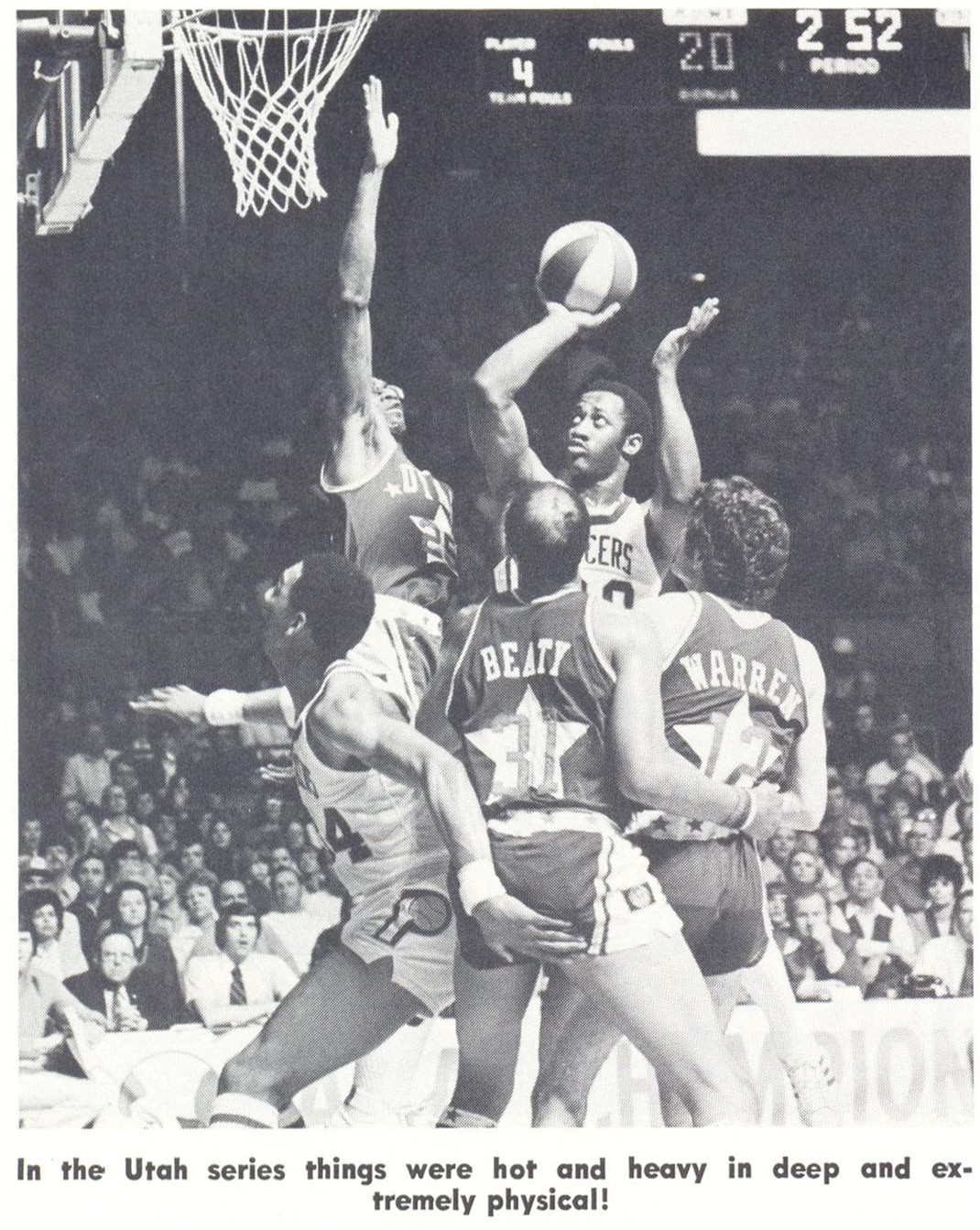 ABA American Basketball Association Players Zelmo Beaty