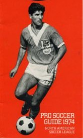 NASL Soccer Los Angeles Aztecs 74 Road Jerry Kazarian