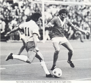 NASL Soccer Los Angeles Aztecs 75 Road Jerry Kazarian