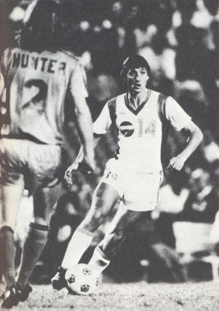 NASL Soccer Los Angeles Aztecs 79 Home Johan Cruyff Express Paul Hunter