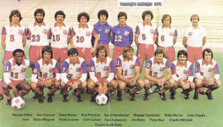 NASL Soccer Toronto Blizzard 79 Home Team