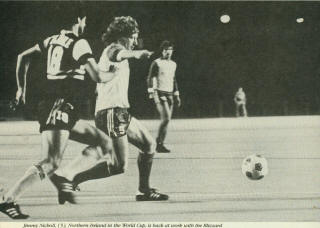 Blizzard 82 Home Jimmy Nicholl, Sting
