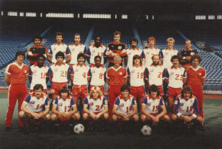 NASL Soccer Toronto Blizzard 1983 Home Team