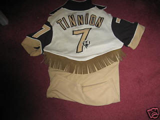 NASL Colorado Caribous 78 Home Jersey Brian Tinnion Back