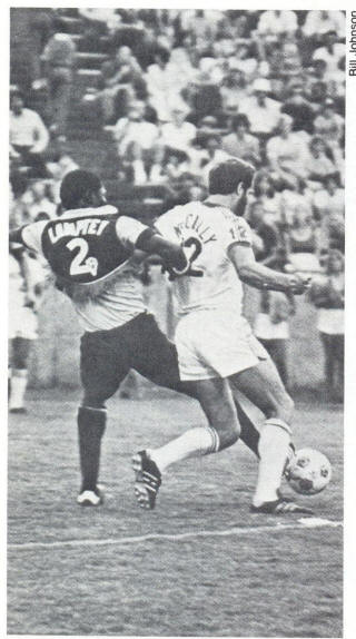 NASL Soccer Colorado Caribous 78 Road Back George Lamptey
