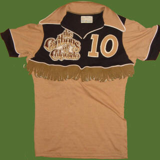 NASL Colorado Caribous 78 Road Jersey Louie Nanchoff