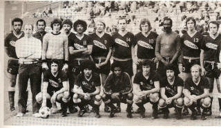 NASL Soccer Baltimore Comets 74 Road Team