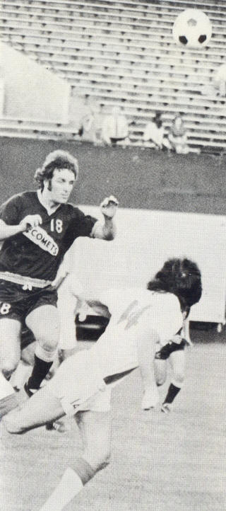 NASL Soccer Baltimore Comets 74 Road Terry Anderson