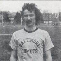NASL Soccer Baltimore Comets 75 T-Shirt Ernie Cox