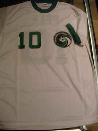 NASL Soccer New York Cosmos 75 Home Jersey Pele
