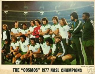 NASL Soccer New York Cosmos 77 Home Team Missing front number