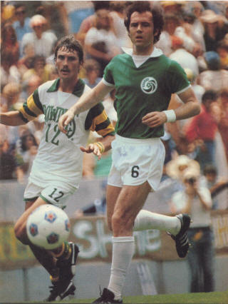 New York Cosmos 1977 Road No front Number Franz Beckenbauer 10