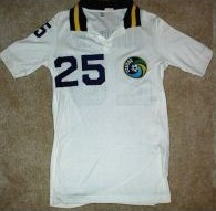 NASL Soccer New York Cosmos 80 Home Jersey Jeff Durgan