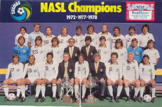 NASL Soccer New York Cosmos 80 Home Team 5