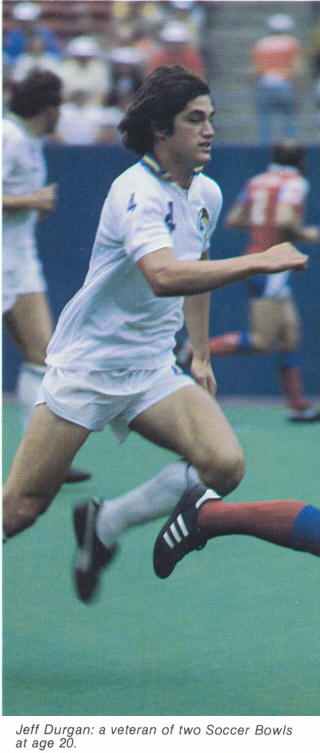 NASL Soccer New York Cosmos 81 Home Jeff Durgan 2