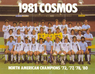 NASL Soccer New York Cosmos 81 Home Team