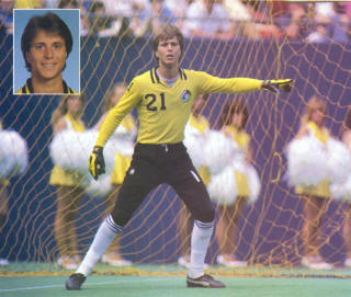 NASL Soccer New York Cosmos 82 Goalie David Brcic 2