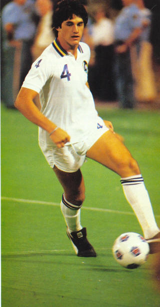 NASL Soccer New York Cosmos 82 Home Jeff Durgan 4
