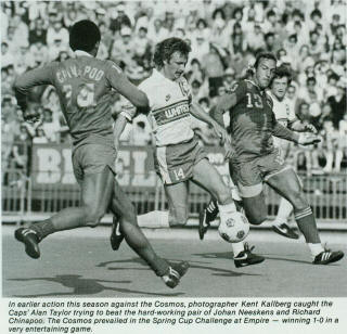 New York Cosmos 1983 Road Back Chinapoo, Neeskens, Whitecaps Spring Cup