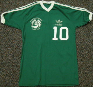 NASL Soccer New York Cosmos 84 Exhibtion Jersey Pele