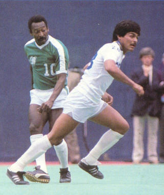 NASL Soccer New York Cosmos 84 Road Exhibition Pele