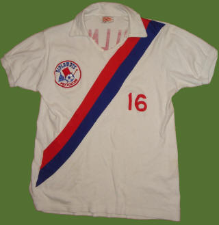 NASL Soccer Washington Dips 74 Home Jersey Roy Willner