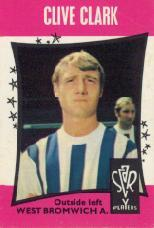 West Brom 67 Head Clive Clark