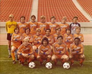 NASL Soccer Edmonton Drillers 79 Road Team