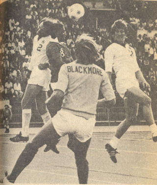 Vancouver Whitecaps Denver Dynamos 1975 Neal Ellett Richared Back Blackmore