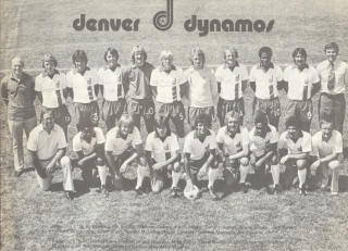 NASL Soccer Denver Dynamos 75 Home Team