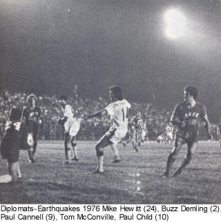 NASL Soccer San Jose Earthquakes 76 Road Paul Child 2