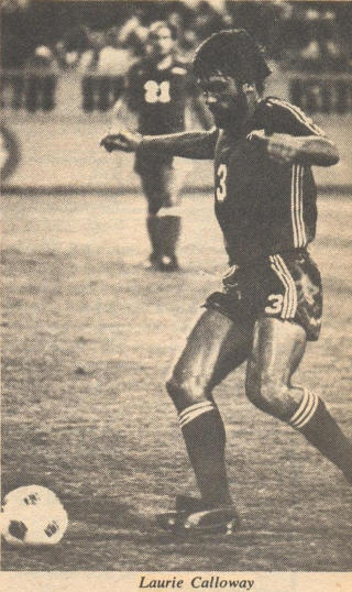 NASL Soccer San Jose Earthquakes 77 Road Laurie Callaway
