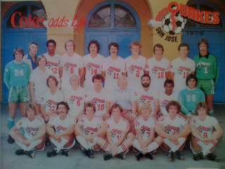 San Jose Earthquakes 1978 Team Picture