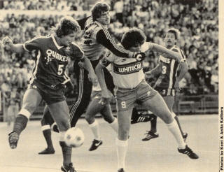 Earthquakes 82 Road Steve Litt, Hewitt, Whitecaps