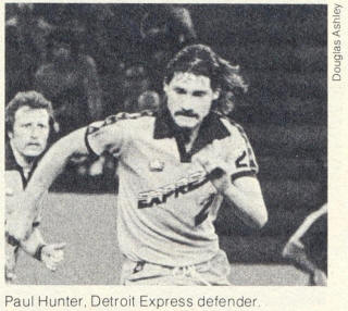 NASL Soccer Detroit Express 78 Road Paul Hunter