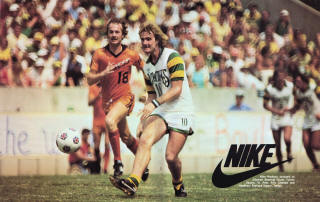 Detroit Express 79 Road Neils Guldbjerg, Rowdies Rodney Marsh