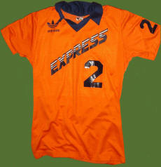NASL Soccer Detroit Express 80 Road Jersey Paul Hunter