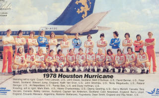 NASL Soccer Houston Hurricane 78 Home Team