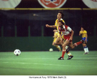 NASL Soccer Houston Hurricane 78 Road Mark Stahl