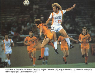 NASL Soccer Houston Hurricane 79 Home Stewart Jump