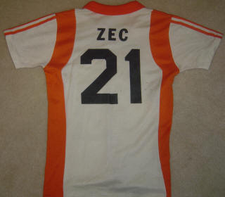 NASL Soccer Houston Hurricane 79-80 Home Jersey Nino Zec Back