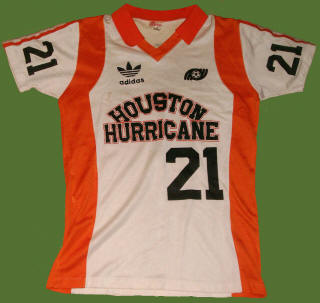 NASL Soccer Houston Hurricane 80 Home Jersey Nino Zec