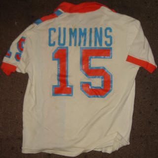 NASL Soccer Minnesota Kicks 77 Home Jersey Stan Cummins Back