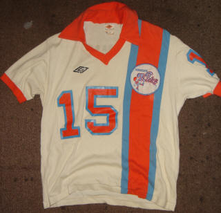 NASL Soccer Minnesota Kicks 77 Home Jersey Stan Cummins