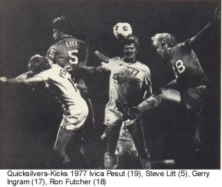 NASL Soccer Minnesota Kicks 77 Road Back Ron Futcher, Steve Litt